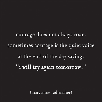 courage magnet quote feb 13